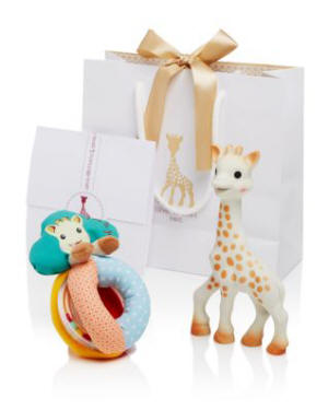 Sophie la Girafe - Sophisticated Set with  & Rattle - Ages 0+