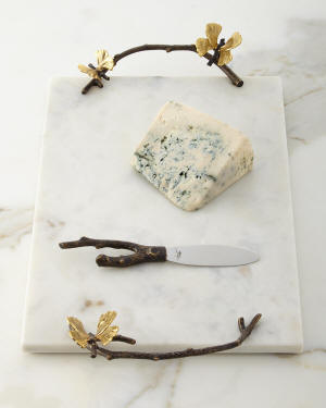 Michael Aram Butterfly Gingko Cheese Board with Knife