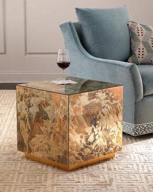 Ameya Cube Accent Table
