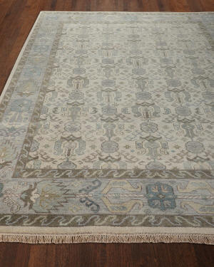 Bryer Hand-Knotted Rug, 8' x 11'